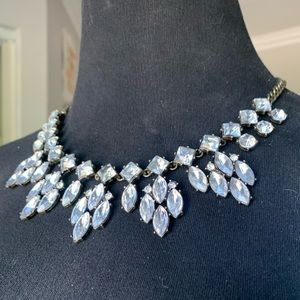 Large Rhinestone Statement Necklace *Resell*